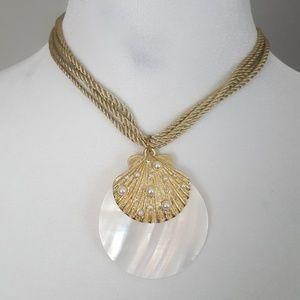 Seashell Pendant Necklace